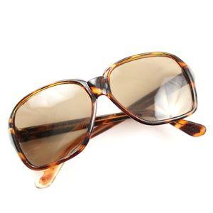 Vintage 60s 70s Japan Tortoise Big Sunglasses